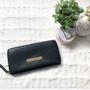 Juicy Couture Leather Continental Zip Wallet
